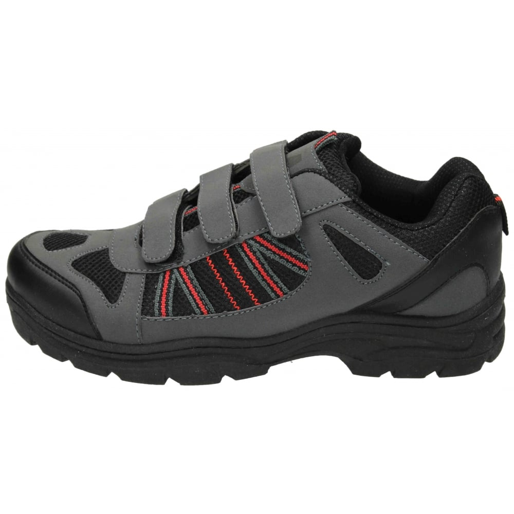 Mens Velcro Fastening Walking Shoes