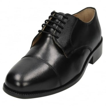 Mens Real Leather Lace Up Formal Wedding Shoes