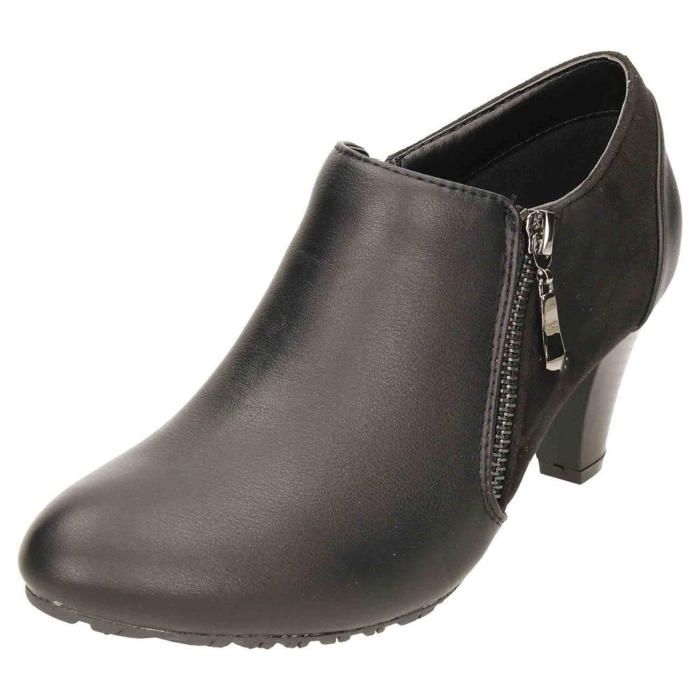 Comfort Plus Wide E Fitting Heeled