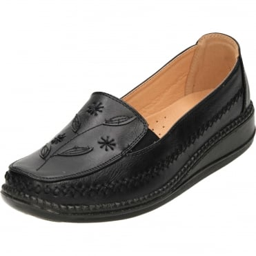 Cushioned Flexible Comfort Slip On Loafer Shoes
