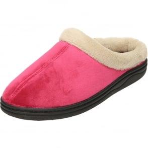 ab319aaab7a6 Dr Keller Ladies hook   loop Open Toe Warm Lined Slippers - Ladies ...