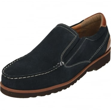 Suede Leather Slip On Moccasin Shoes