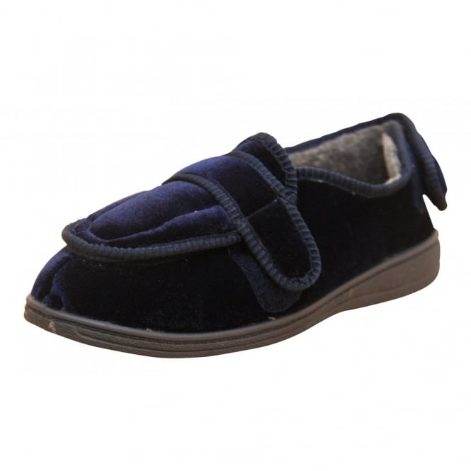 Dr Lightfoot Mens Memory Foam Washable Slippers