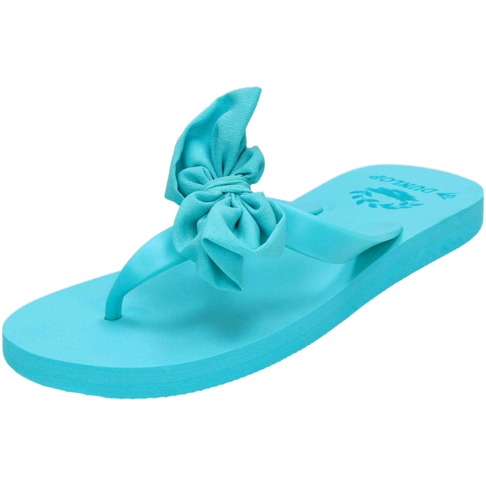 35c6bc28231 Dunlop Bow Flip Flops Toe Post Summer Casual Beach Sandals - Ladies Footwear  from Jenny-Wren Footwear UK