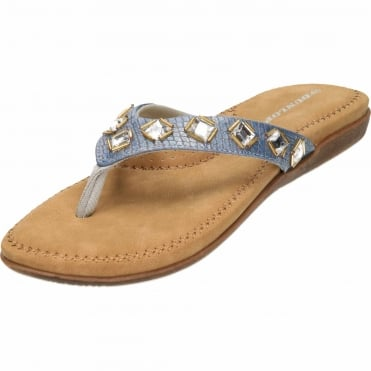 Ladies Flip Flops Toe Post Slip On Flat Sandals