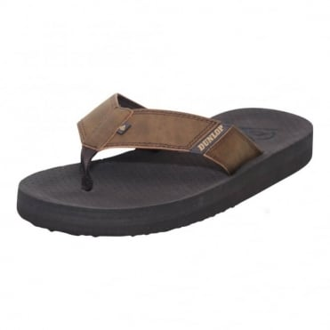 Mens Flip Flops Toe Post Beach Summer Sandals