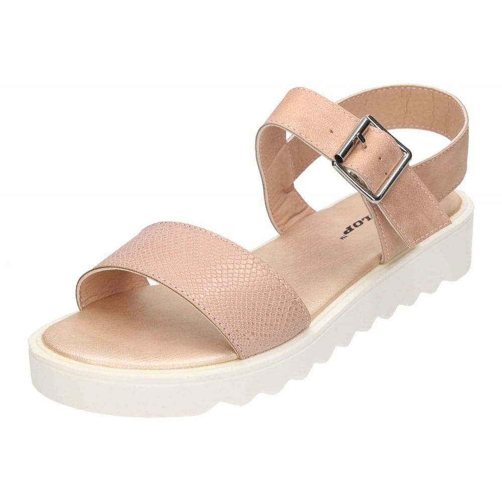 0997ac86839 Dunlop Slingback Sandals Open Toe Flatforms Shoes - Ladies Footwear ...