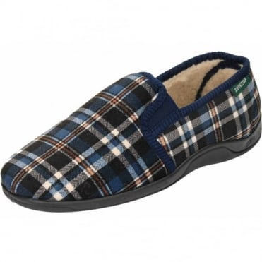 Warm Twin Gusset Slip On Slippers