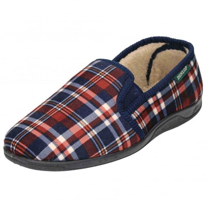 Dunlop Warm Twin Gusset Slip On Slippers