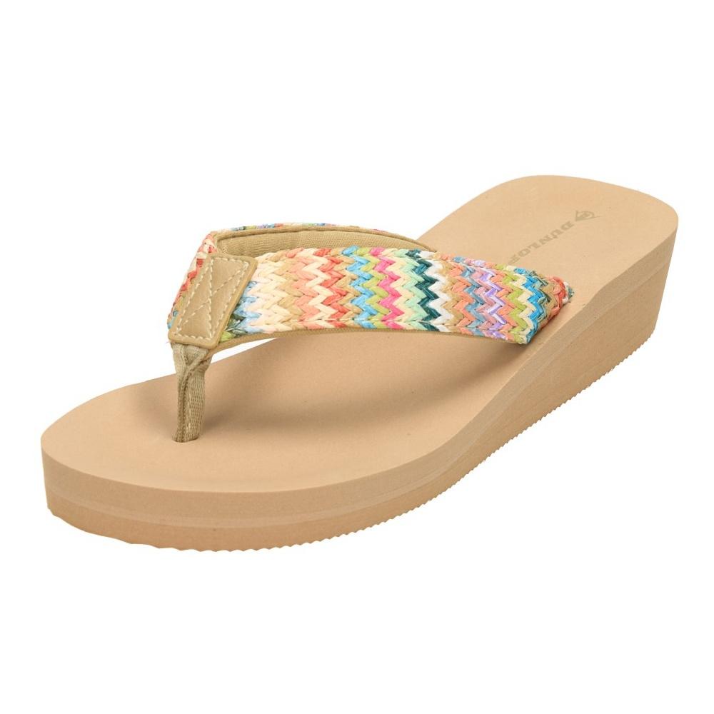 ca37230fd02 Dunlop Wedge Heel Sandals Flip Flops Mule Espadrilles Toe Post - Ladies  Footwear from Jenny-Wren Footwear UK