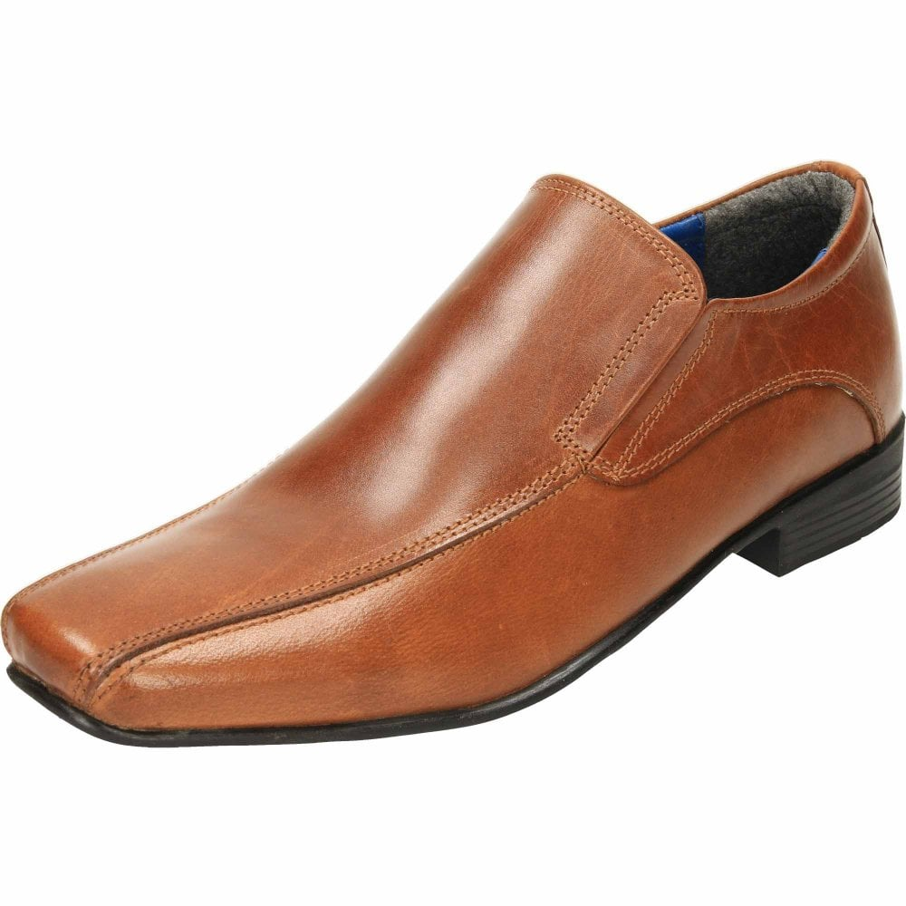 slip on shoes mens leather 50% off