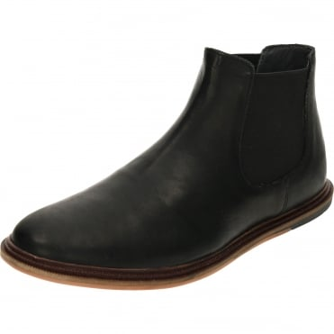 Vogts Leather Chelsea Pull On Ankle Boots