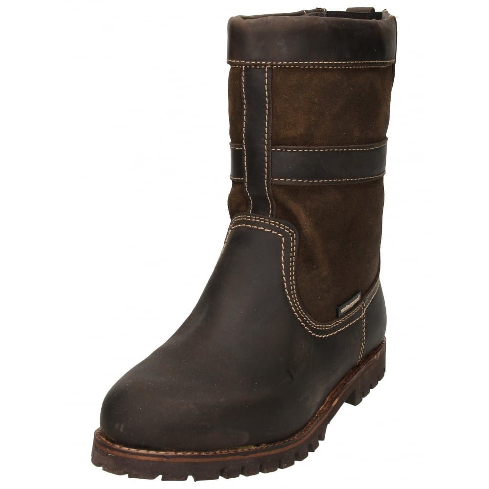 Human Nature Mens Real Suede Leather