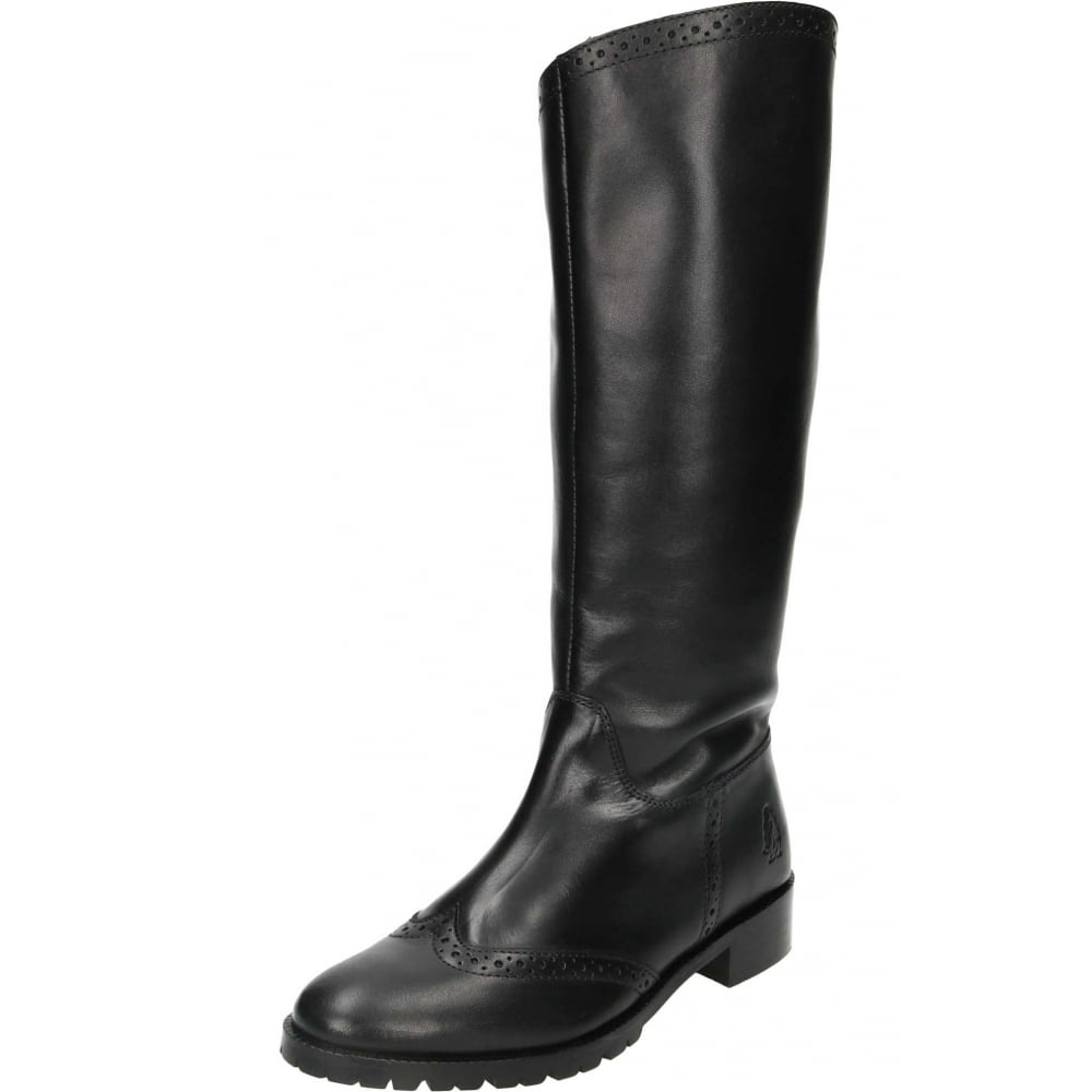 top brands volume large ever popular Hush Puppies Emilia Real Leather Knee High Flat Boots