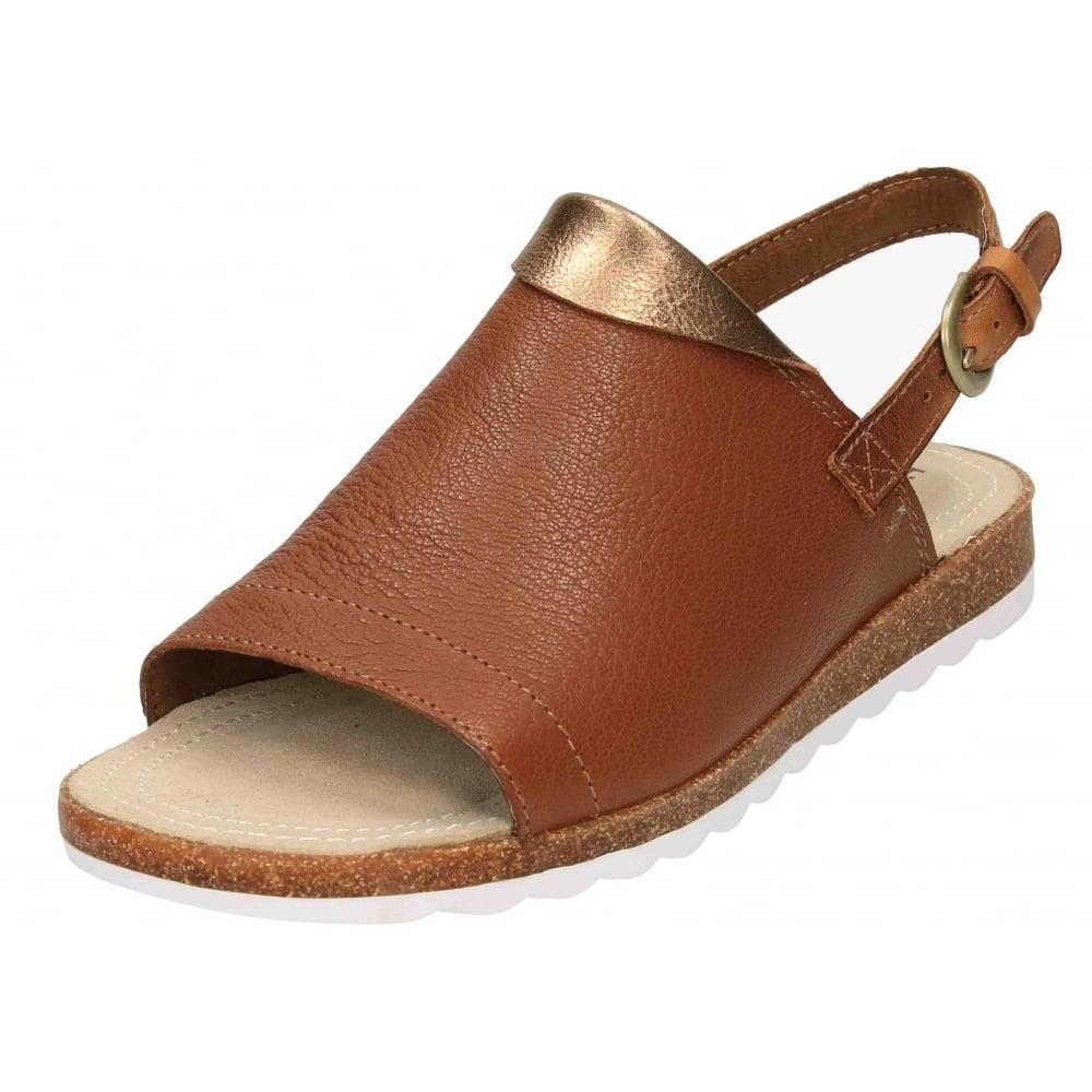 8b82b4c02 Hush Puppies Nannette Jade Real Leather Slingback Flat Sandals - Ladies  Footwear from Jenny-Wren Footwear UK