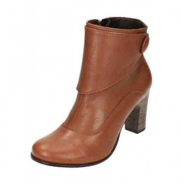 Willow Brook Real Leather Suede High Heel Ankle Boots