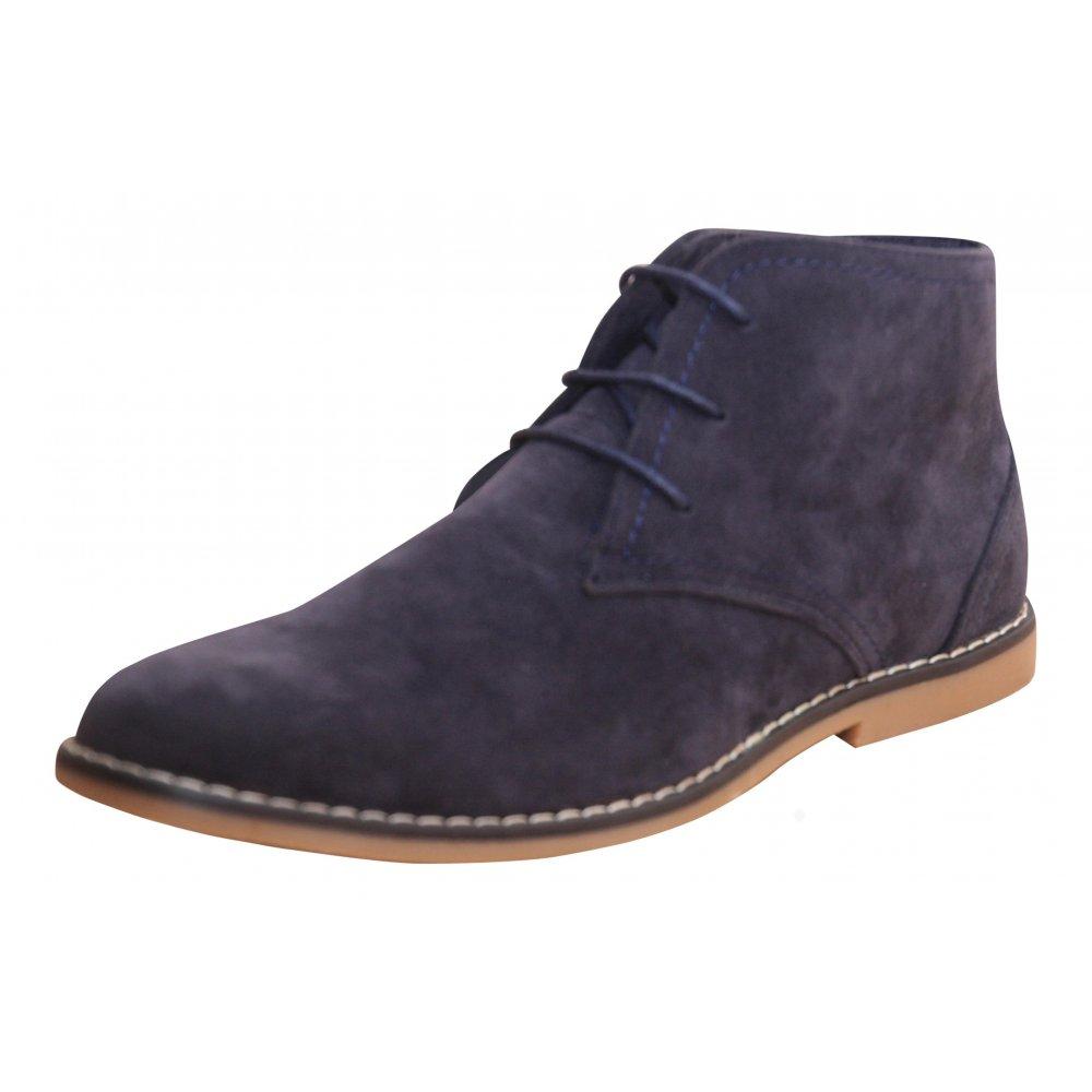 Jenny Wren Footwear Mens Faux Suede