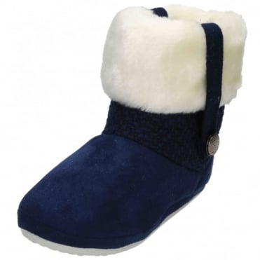 Ladies Cosy Warm Soft lining Winter Ankle Booties Boots Slippers
