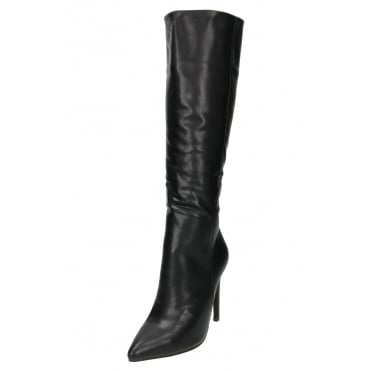 High Heel Stiletto Knee High Boots Pointed Toe