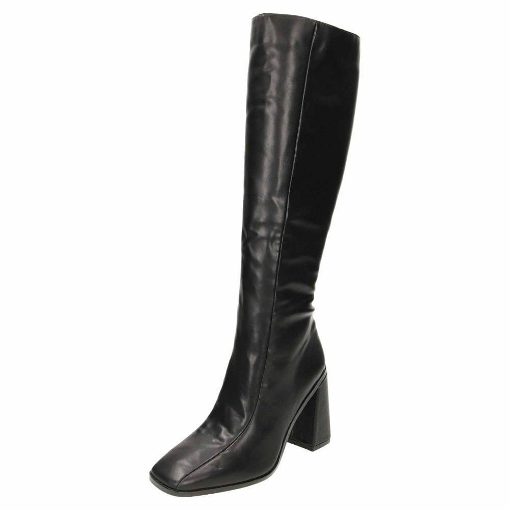 Koi Footwear Chunky Wide Base High Heel