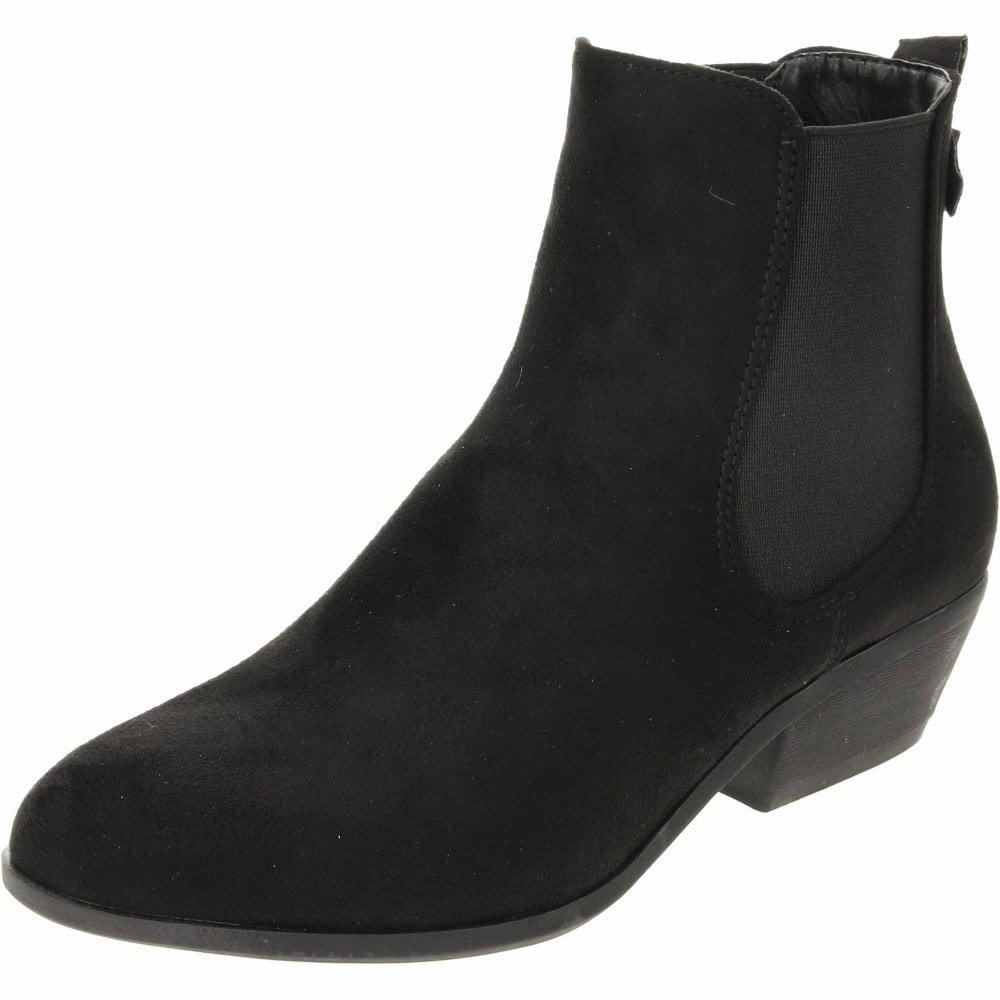 Krush Chelsea Ankle Boots Cuban Heel