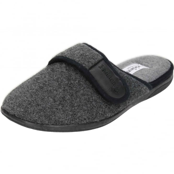 Padders Baxter G Wide Fitting Washable Slipper Mules