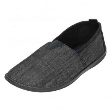 Blake G Wide Fitting Washable Full Slippers