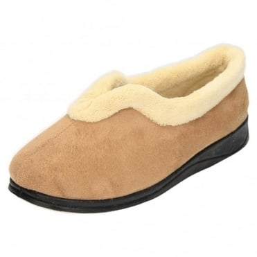 Carmen EE Wide Fitting Washable V Cut Slippers