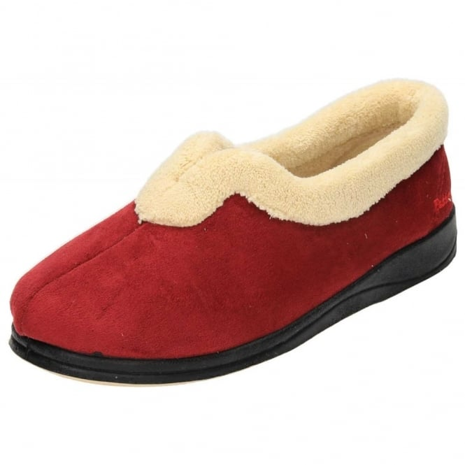 Padders Carmen EE Wide Fitting Washable V Cut Slippers