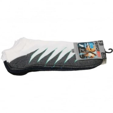 Mens Soft Cotton Gym Active Trainer Ankle Socks