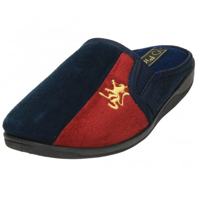 Piri Piri Faux Suede Slipper Mule Slip On Memory Foam