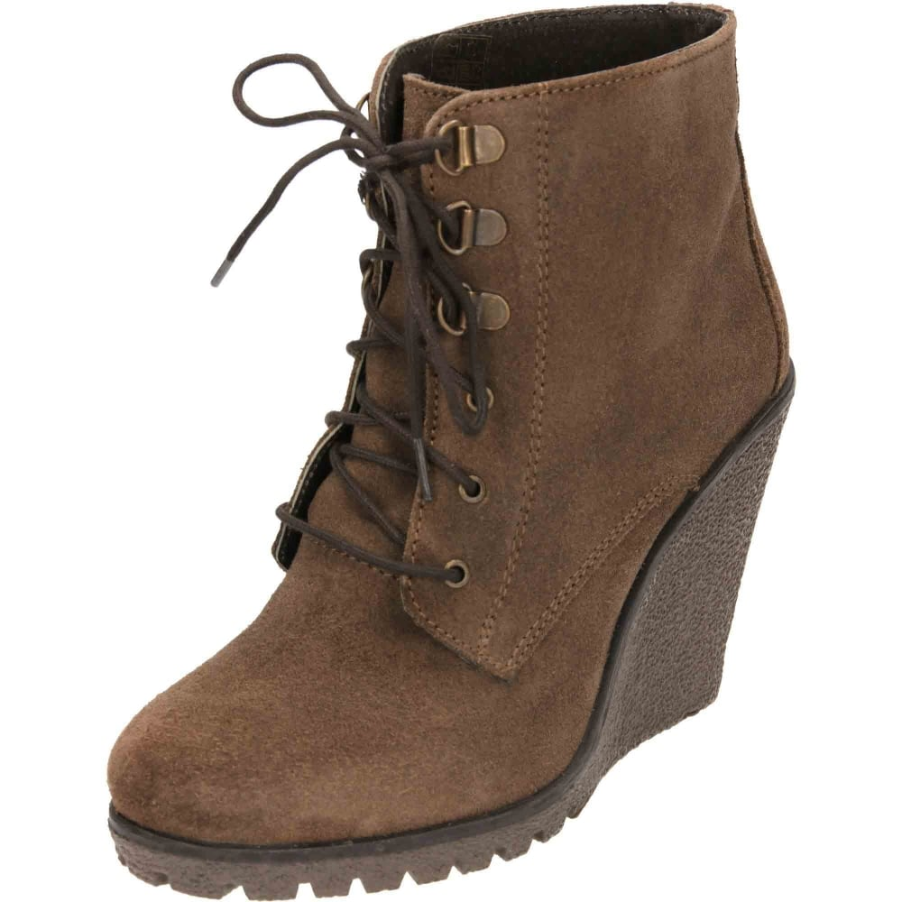 8aaa571a1ec7 Ravel Trinity Suede Leather Wedge Lace Up Ankle Boots - Ladies Footwear  from Jenny-Wren Footwear UK
