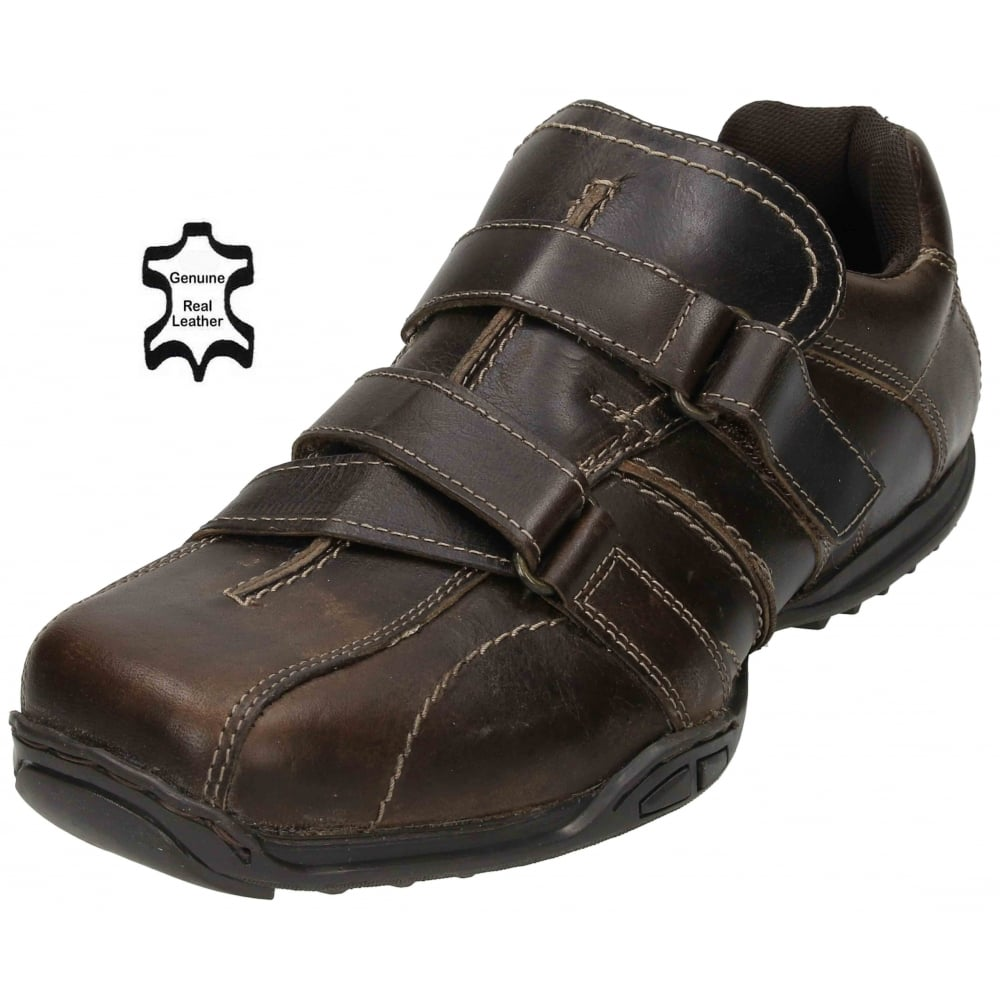 Mens Shoes With Velcor Fastening