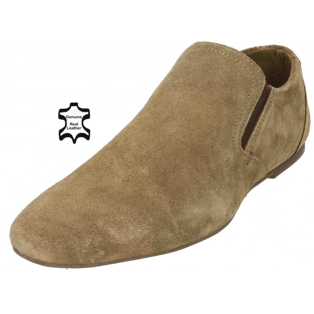Red Tape Mens Real Suede Leather Slip