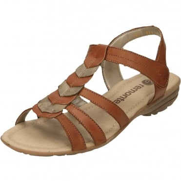 Gladiator Touch Fastening Wedge Sandals R3658