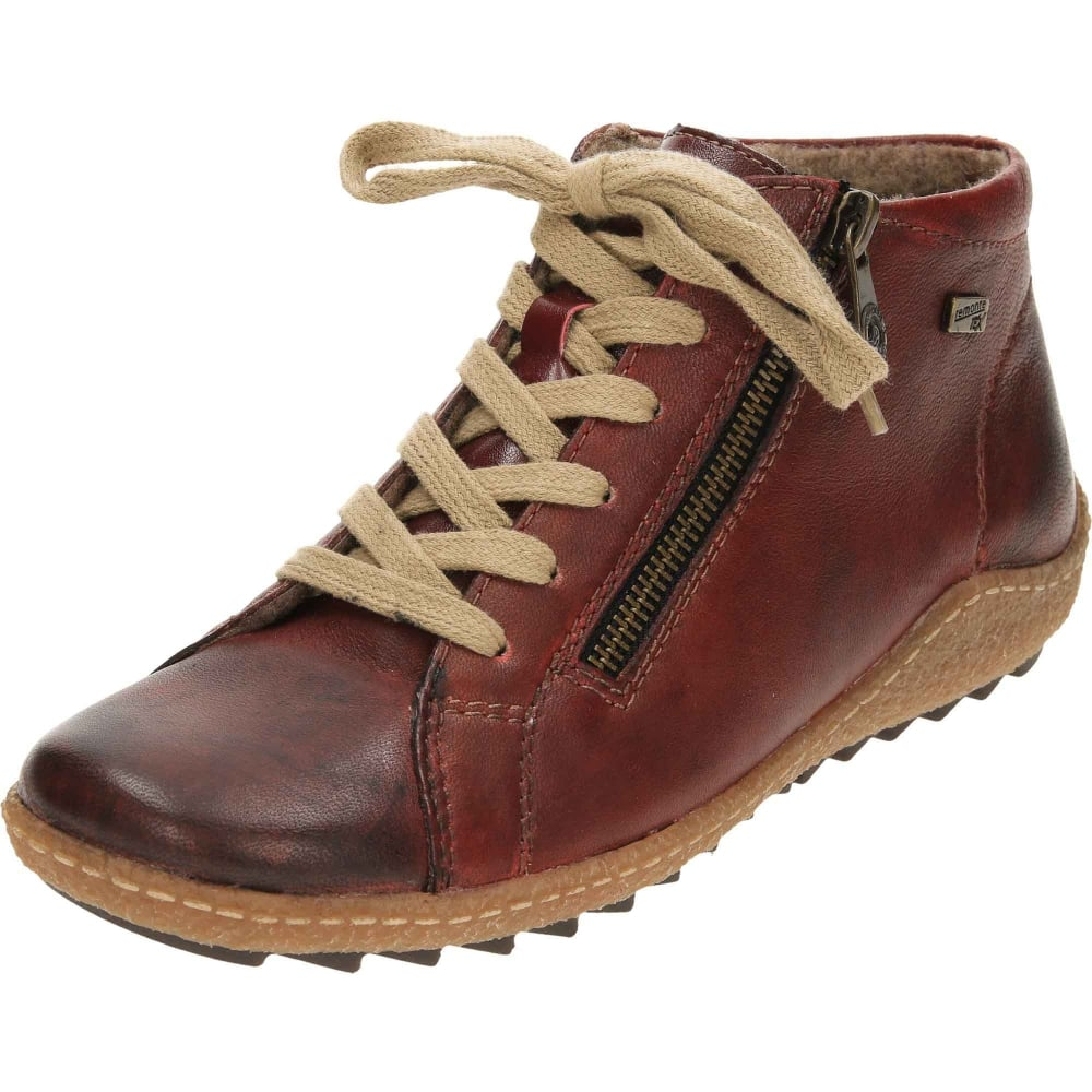 ec26f1c35 Remonte Tex Leather Ankle Boots Lace Up Zip High Top Shoes R4774 - Ladies  Footwear from Jenny-Wren Footwear UK