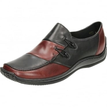 L1762 Slip on Flat Loafers Leather Shoes