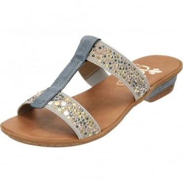 Slip On Sandals Mules Open Toe 63454-42
