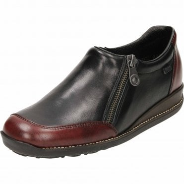 Tex 44294-35 Leather Loafer Elasticated Shoe