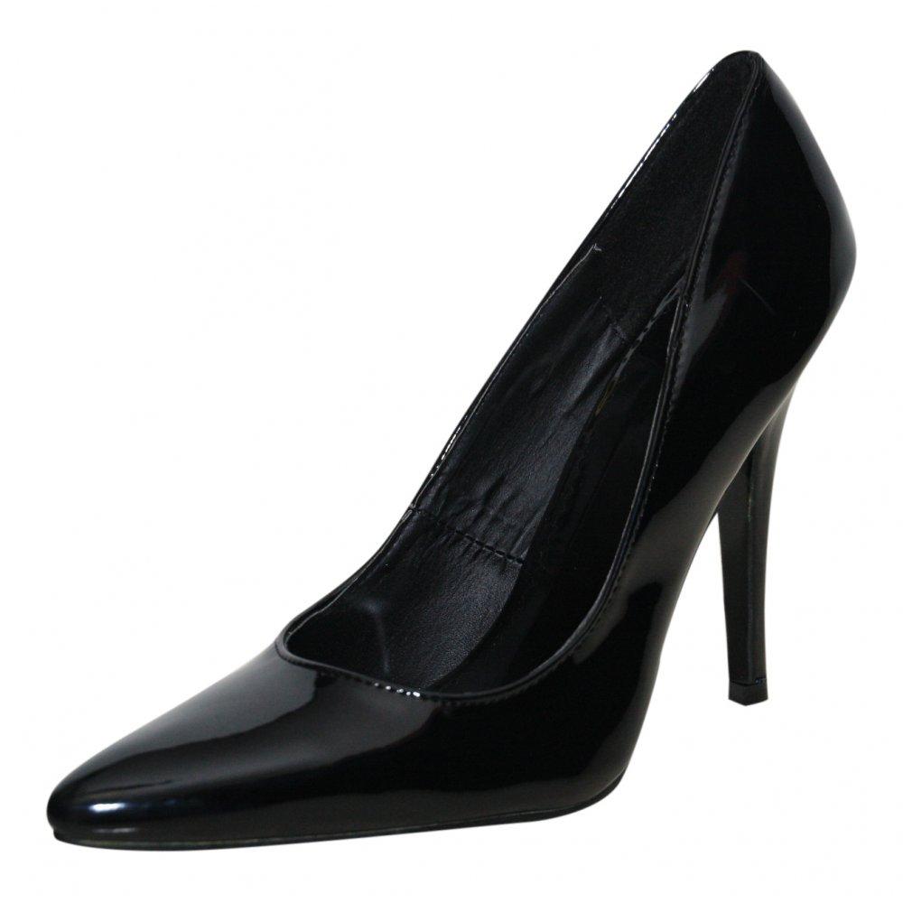 sexyca mens black patent high heel stiletto