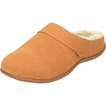 Vienna Slip On Mules Flat Orthotic Leather Slippers