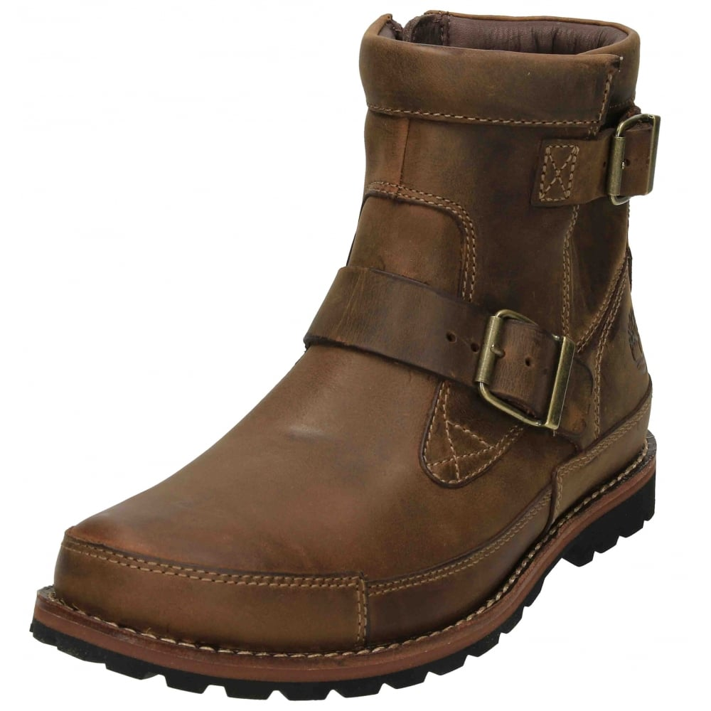Timberland Earthkeepers Mens Biker Military Ankle Boots